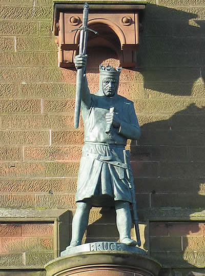 statue of King Robert the Bruce