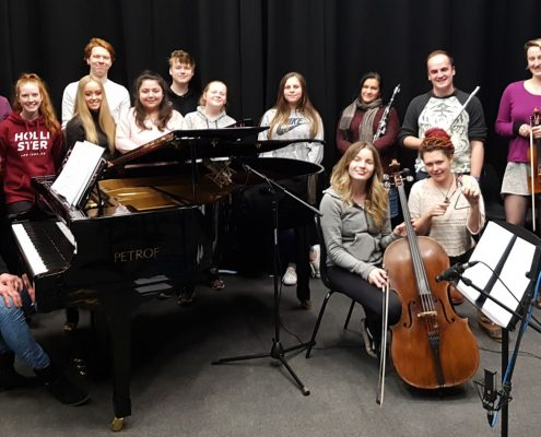 Absolute Classics - Annan Academy - Atmospheres recording session